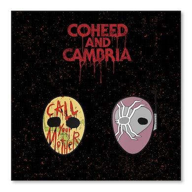 Coheed and Cambria Unheavenly Mask Pin Set