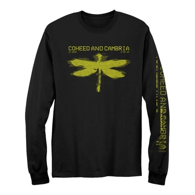 Coheed and Cambria VCR Glitch Long Sleeve T-Shirt