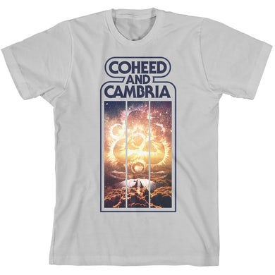 Coheed and Cambria Keywork Stripes T-Shirt
