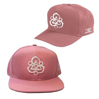 Coheed and Cambria Pink Keywork Snapback Hat