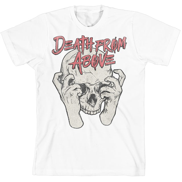 Death From Above Skull Hands T-Shirt