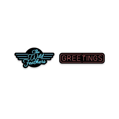 The Wild Feathers Greetings Pin Set