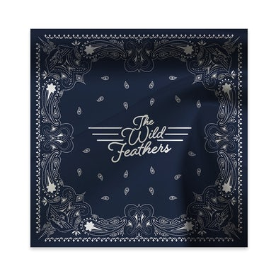 The Wild Feathers Greetings Logo Bandana