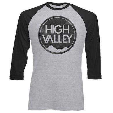 High Valley Vintage Logo Baseball Tee