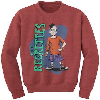 The Regrettes Scissor Kid Crewneck Sweater