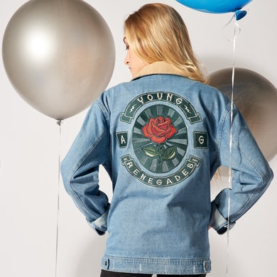 All Time Low Rose Collectible Denim Jacket