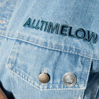 All Time Low Spade Enamel Pin