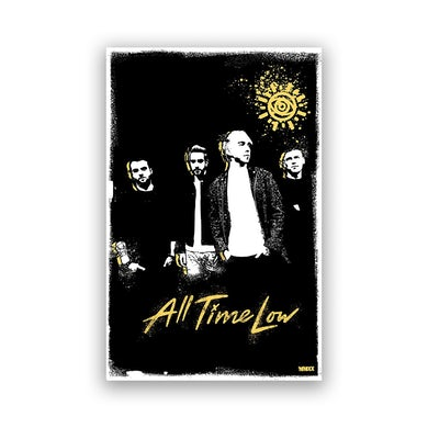 All Time Low Sunnyside Poster