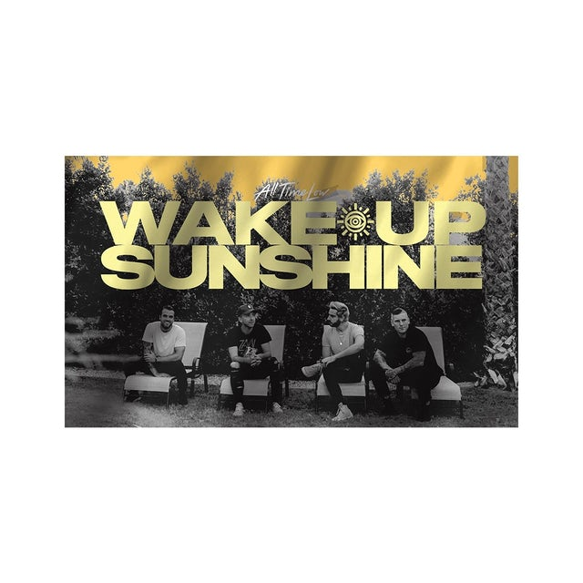 All Time Low Wake Up Flag