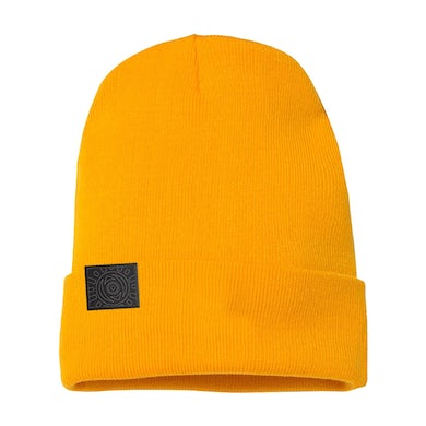 All Time Low Outline Sunshine Gold Beanie