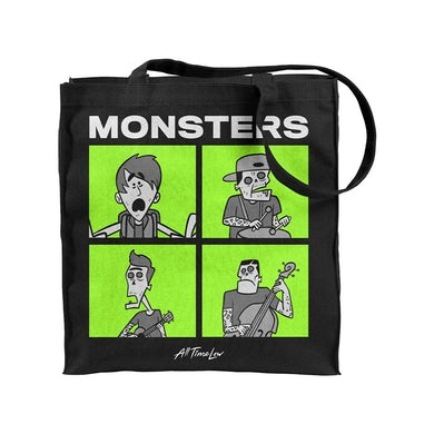 All Time Low Monsters Tote