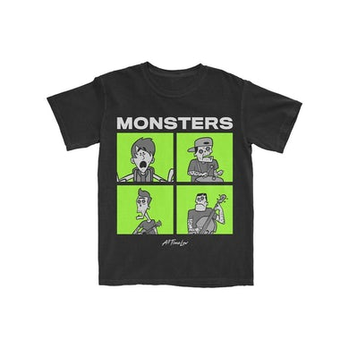 All Time Low Monsters Square T-Shirt