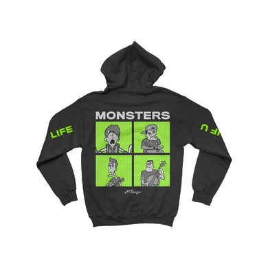 All Time Low Monsters Square Hoodie