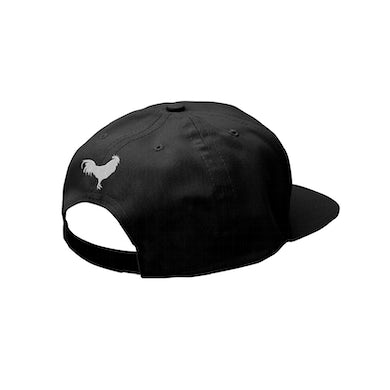 Alice In Chains Black Rooster Snapback