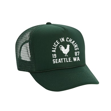 Alice In Chains Athletic Rooster Trucker Hat