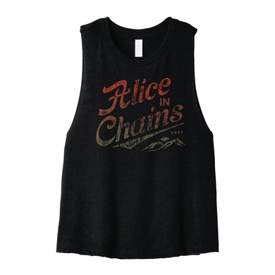 Alice In Chains AIC Stamp Crop Tank