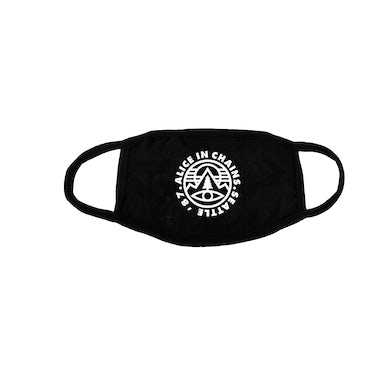 Alice In Chains Pine Emblem Face Mask