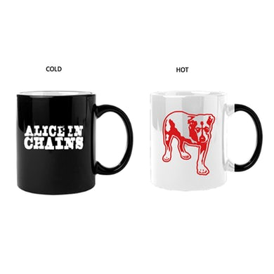 Alice In Chains AIC Hot / Cold Mug