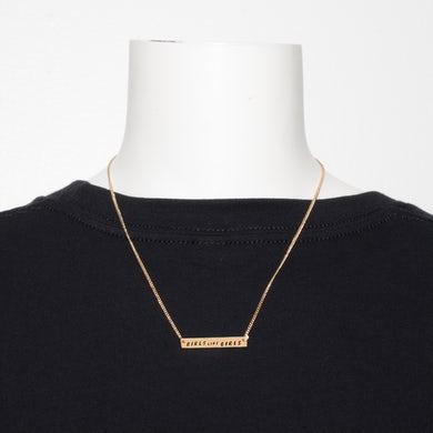 Hayley Kiyoko GLG Gold Bar Necklace