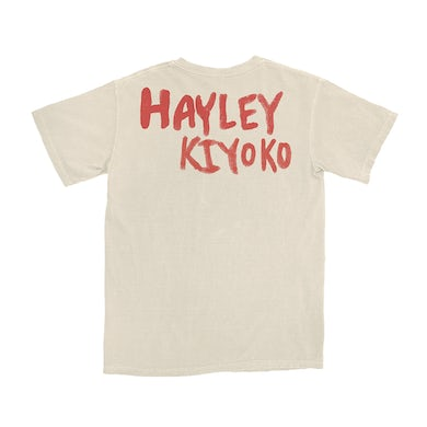 Hayley Kiyoko I'm Too Sensitive Natural T-Shirt