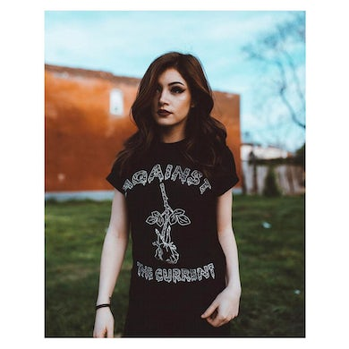 Against The Current Melting Rose T-Shirt