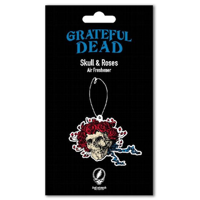 Grateful Dead Skull & Roses Air Freshener
