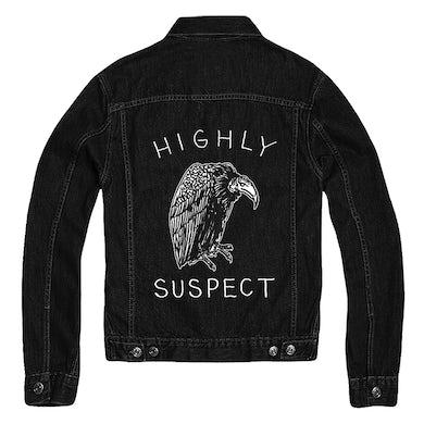 Highly Suspect Vulture Black Denim Jacket