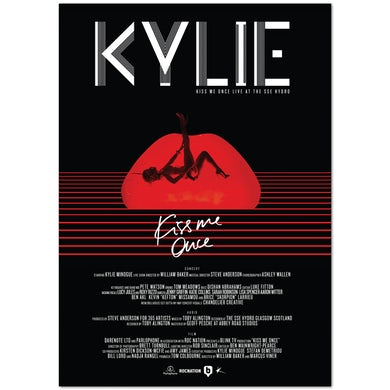Kylie Minogue Kiss Me Once Live Poster