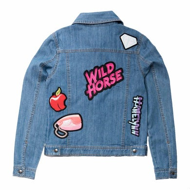 RaeLynn Wildhorse Denim Patch Jacket