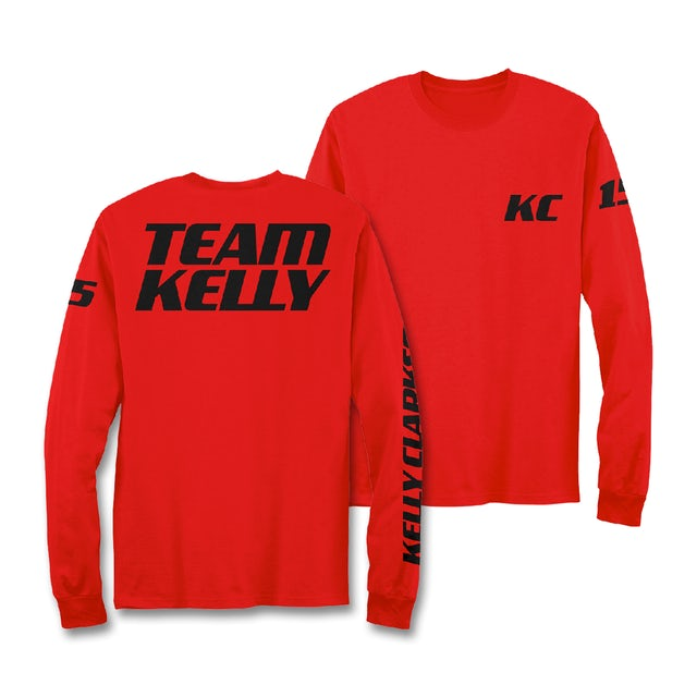 Kelly Clarkson #TeamKelly Long Sleeve T-Shirt