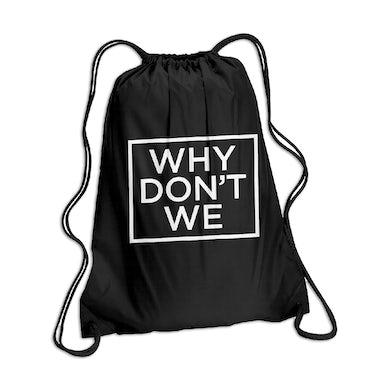Why Don't We Logo Drawstring Bag
