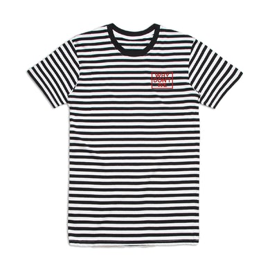 Why Don't We Striped Logo T-Shirt