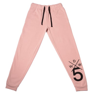Why Don't We Light Pink Joggers