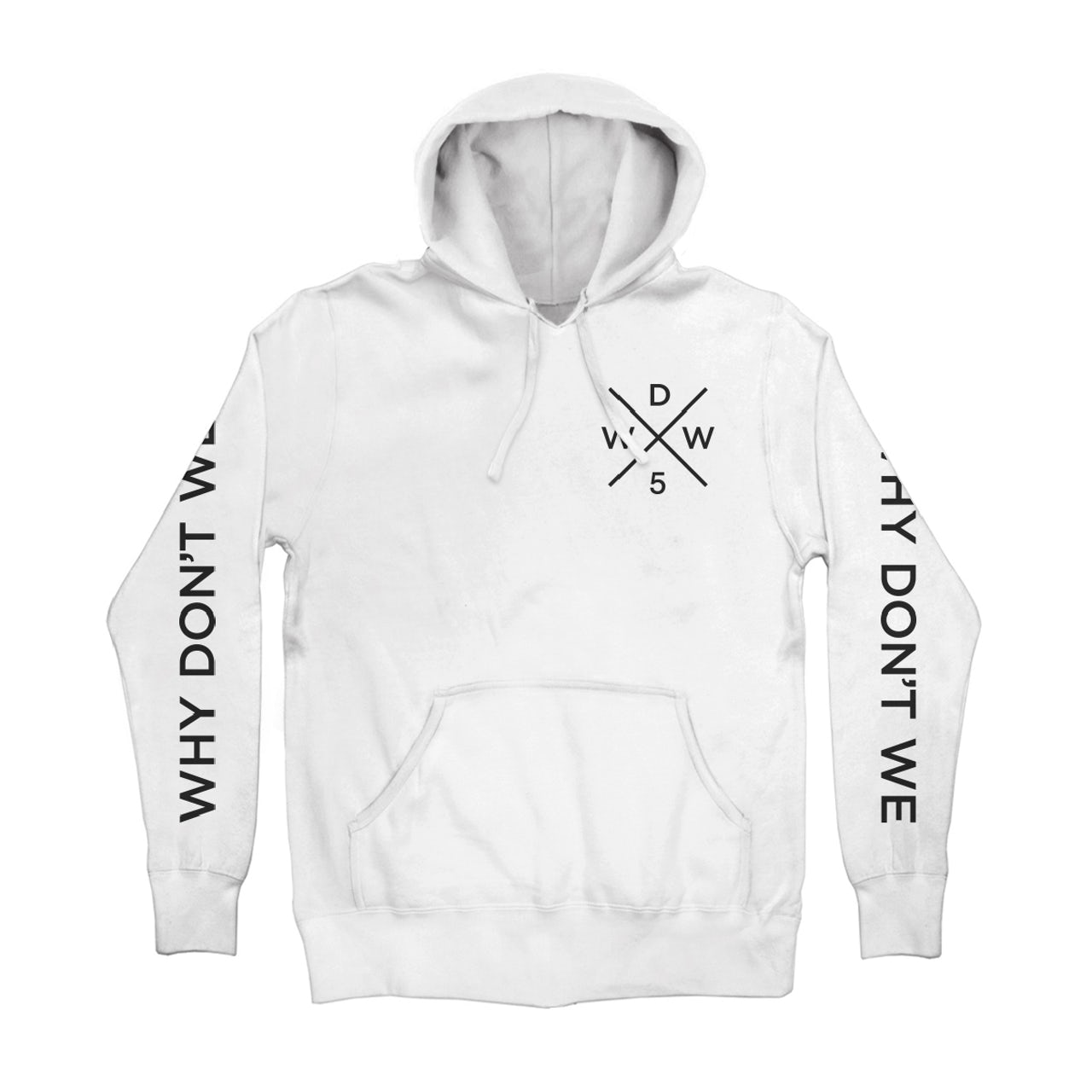 015490a78 Why Don't We. Cross Logo Pullover (White)