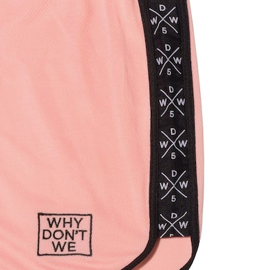 Why Don't We Panel Shorts (Pink)