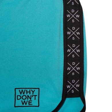 Why Don't We Panel Shorts (Turquoise)