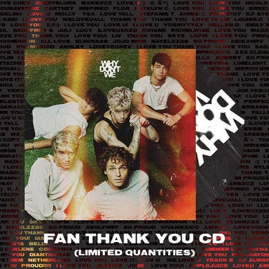Why Don't We Fan Thank You CD (Limited Offer)