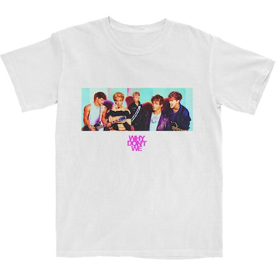 Why Don't We The Band Shot White T-Shirt