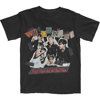 Why Don't We Ransom Letter T-Shirt