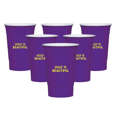Oliver Tree Ugly is Beautiful Reusable Cup Set