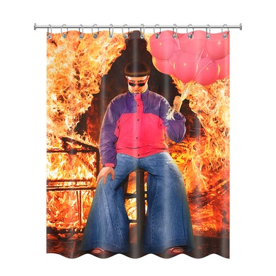 Oliver Tree Ugly is Beautiful Shower Curtain