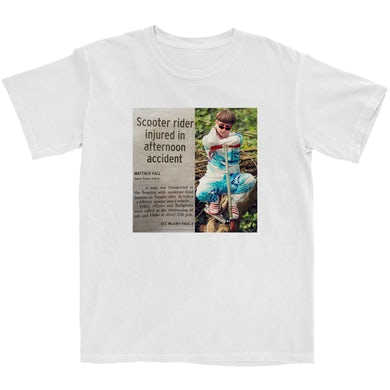 Oliver Tree Limited Edition Scooter Crash Meme Tee
