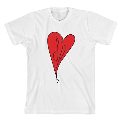 The Smashing Pumpkins SP Heart T-Shirt (White)