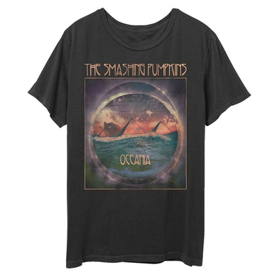 The Smashing Pumpkins Oceania Pyramid Flood T-Shirt