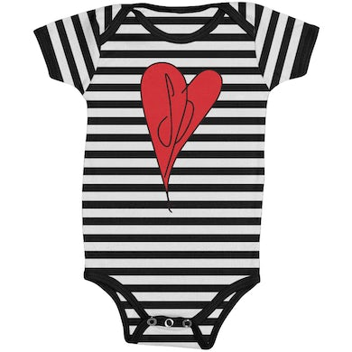 The Smashing Pumpkins Striped SP Onesie