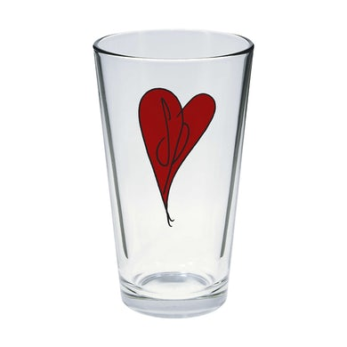 The Smashing Pumpkins Heart Pint Glass