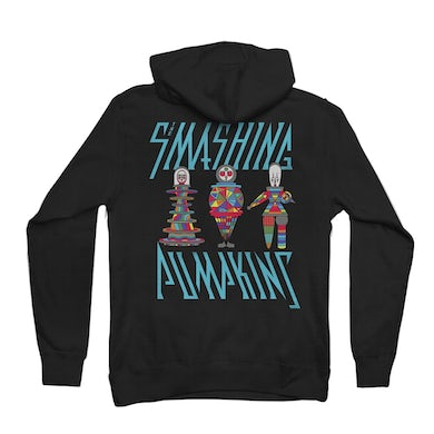 The Smashing Pumpkins Puppets Black Hoodie