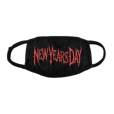New Years Day Logo Face Mask (Black)