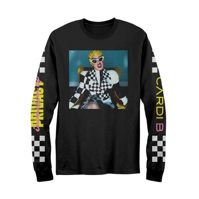 Cardi B IOP Album Cover Longsleeve T-Shirt