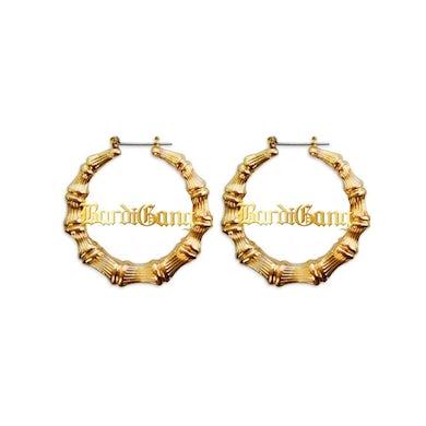 Cardi B Bardi Gang Bamboo Earrings
